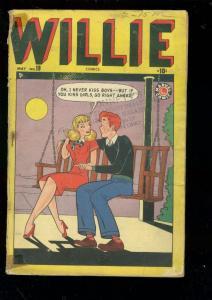 WILLIE #19 1949-MARVEL COMICS-HARVEY KURTZMAN-HEY LOOK! G-