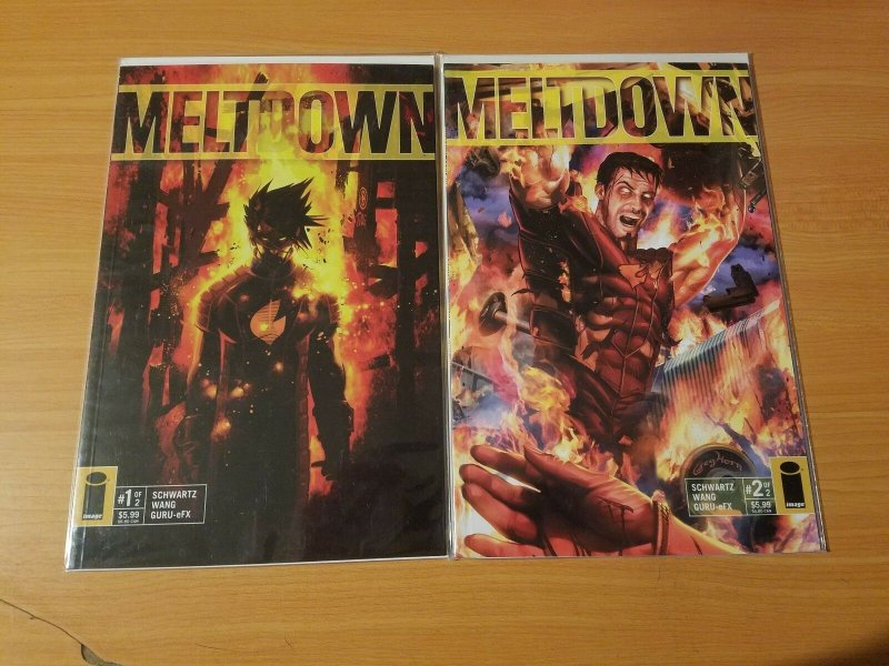 Meltdown 1-2 Complete Set Run! ~ NEAR MINT NM ~ 2006 Image Comics