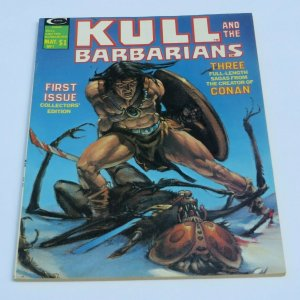 Kull The Barbarian #1 VF/VF+ High Grade 1975 Magazine Swords & Sorcery Evil