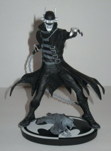 Batman Who Laughs Black & White Capullo Statue Limited Edition DC Collectibles