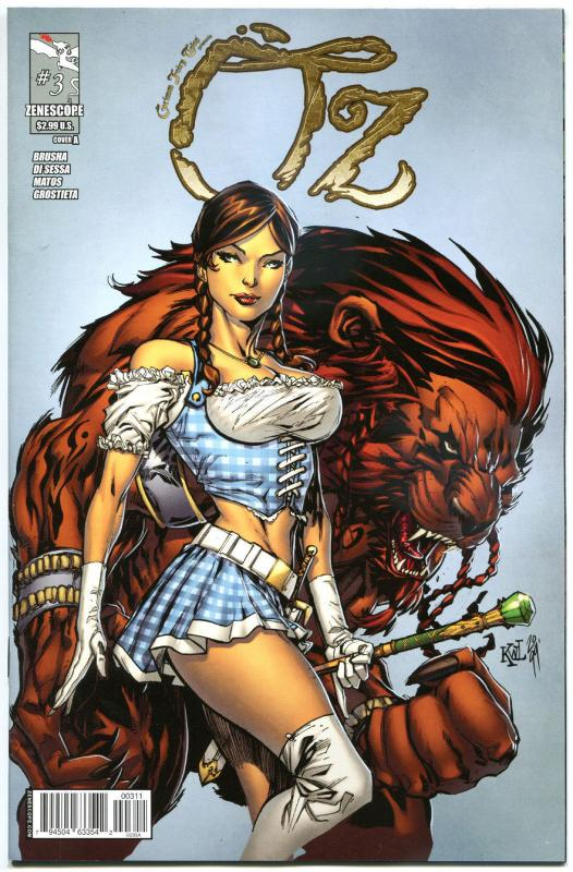 GRIMM FAIRY TALES presents OZ #3 A, NM-, Dorothy, 2013, more GFT in our store