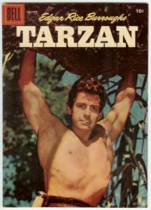 TARZAN (1948-1972 DELL) 86 G-VG photo cover: GORDON SCO COMICS BOOK