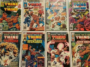 Marvel two-in-one comic lot from:#50-99 42 difference avg 6.0 FN (1979-83)