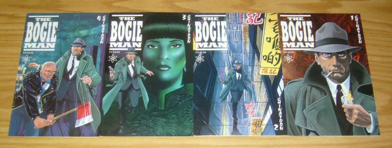 Bogie Man: Chinatoon #1-4 VF/NM complete series - humphrey bogart comics set 2 3