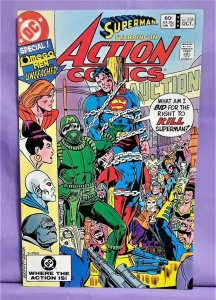 Superman Marv Wolfman ACTION COMICS #536 Joe Staton Bronze Age (DC, 1982)!