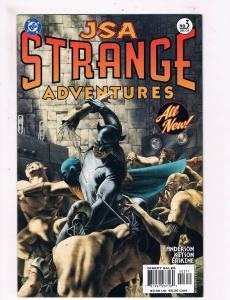 JSA Strange Adventures #3 VF/NM 1st Print DC Comic Book Wildcat Flash DE1