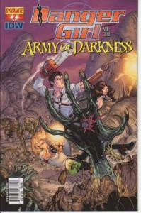 Danger Girl and the Army of Darkness #2A VF/NM; Dynamite | save on shipping - de