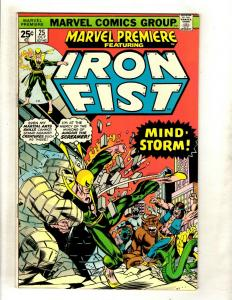 Marvel Premiere # 25 VF/NM Comic Book Feat. Iron Fist Defenders Luke Cage WS9