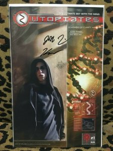 UTOPIATES - BLOODFIRE - #1 & #2 SIGNED by Finney and Rohca- 2005 - VF+