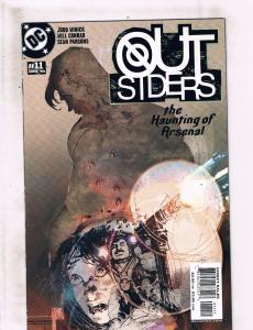 Lot of 6 Outsiders DC Comic Books #11 12 13 14 15 16 LH15
