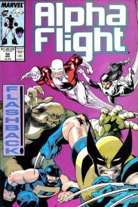 Alpha Flight (1983 series) #52, VF+ (Stock photo)