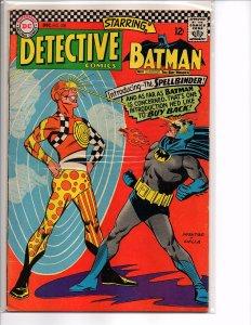 DC Comics (1966) Detective Comics #358 Batman; Spellbinder Infantino Art