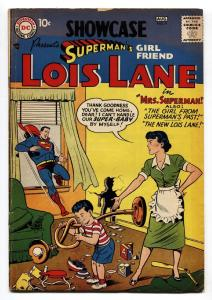 SHOWCASE COMICS #9 1957-SUPERMAN'S GIRLFRIEND LOIS LANE