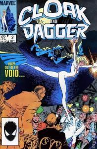 CLOAK and DAGGER #2, FN/VF, 1985, Mantlo, Leonardi, more Marvel in store