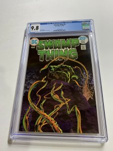Swamp Thing 8 Cgc 9.8 Ow/w Pages Dc Bronze Age