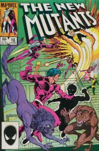 New Mutants, The #16 VF/NM; Marvel | save on shipping - details inside