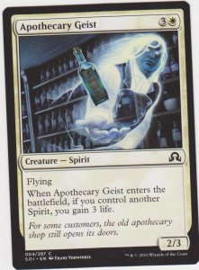 Magic the Gathering: Shadows Over Innistrad - Apothecary Geist