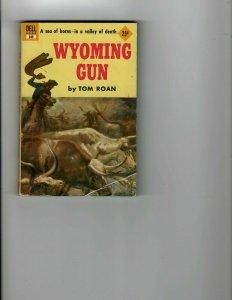 3 Books Wyoming Gun She Ate Her Cake Judas Incorperated JK17