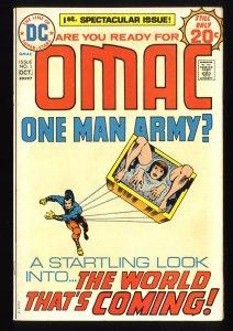 Omac #1 VF+ 8.5