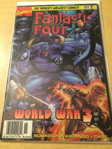 Fantastic Four #13 Heroes Reborn World War 3