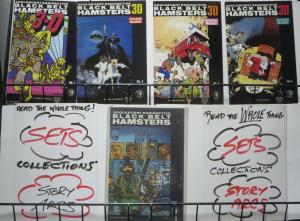 ADOLESCENT RADIOACTIVE BLACK BELT HAMSTER SAMPLER! 5 books- F or Better