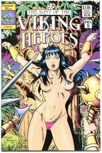 VIKING HEROES #5, NM, Genesis, Mike Thibodeaux,1988, more indies in our store