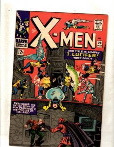 (Uncanny) X-Men # 20 VF/NM Marvel Comic Book Angel Beast Cyclops Jean Grey JF15