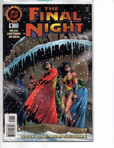 DC Comics The Final Night #1 WEEK ONE: ARMAGEDDON