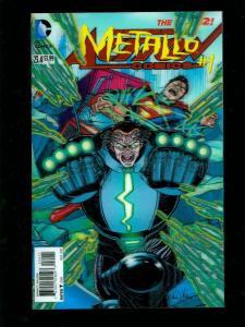 ACTION COMICS #23.4 METALLO SUPERMAN 3-D VARIANT NEW 52 HIGH GRADE NM
