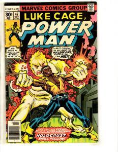 7 Power Man Marvel Comic Books # 47 52 56 59 60 61 62 Iron Fist Defenders CR35