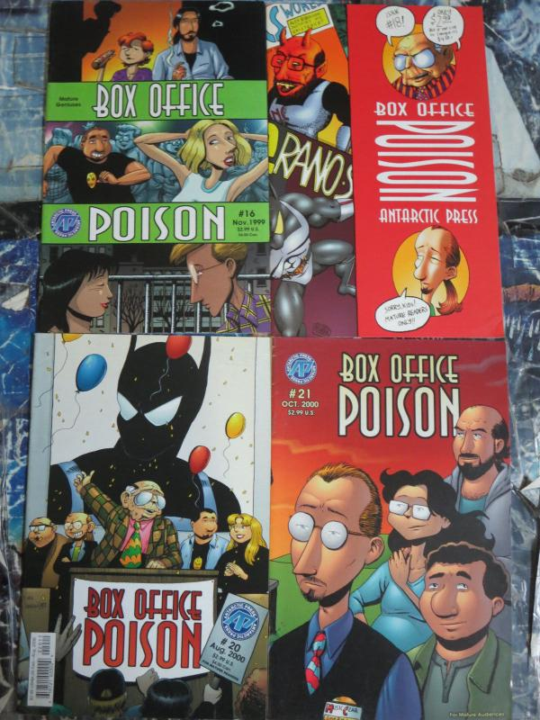Box Office Poison Lot of 10 Comics Alex Robinson Antarctic Press Darlene Kaiser+