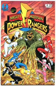 POWER RANGERS #4, NM, Martial arts, monsters, TV hit, more Kids items in store