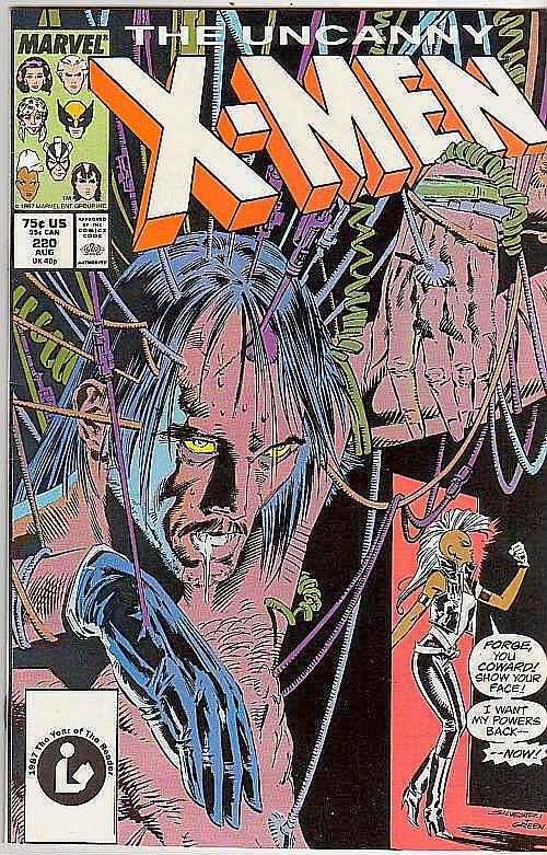 X-Men #220 (Aug-87) NM- High-Grade X-Men