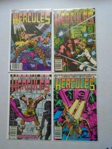 Hercules set #1-4 8.0 VF (1982 1st Series)