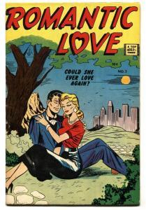 Romantic Love #2- IW reprint- Spicy art-Golden-Age comic book