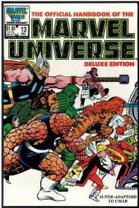 Official Handbook of the Marvel Universe #13 (Marvel, 1986)