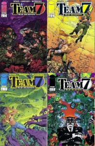 TEAM 7 DEAD RECKONING (1996 IM) 1-4 incl scarce #4