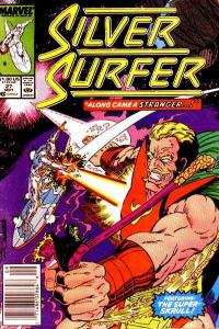 Silver Surfer (1987 series) #27, NM- (Stock photo)
