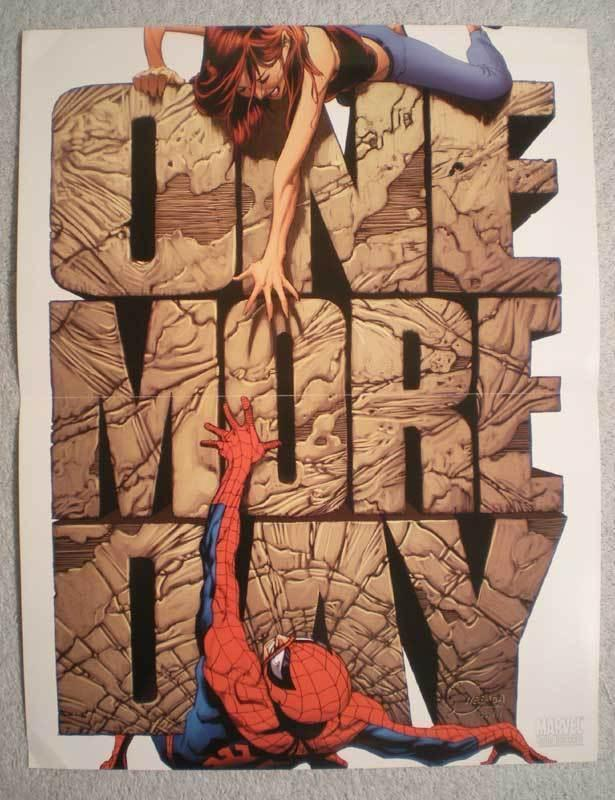 ONE MORE DAY Promo Poster, SPIDER-MAN, 2007, Unused, more in our store