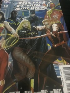DC Justice League Of America #12 Variant Mint