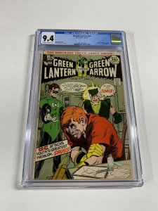 Green Lantern 85 Cgc 9.4 Ow/w Pages Heroin Issue Green Arrow Neal Adams Dc