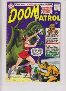 Doom Patrol #100 VG/FN december 1965 - origin of beast boy (2nd appearance) DC