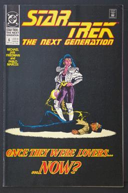 Star Trek Next Generation #6 Six Issue Mini-Series July 1988