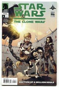 Star Wars: The Clone Wars #4 2009 cool cover-comic book NM-