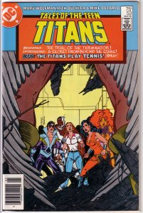 Tales of the Teen Titans   #53 FN