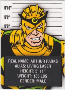 2015 Avengers Silver Age Trading Cards-Classic Villains #CV9 Living Laser