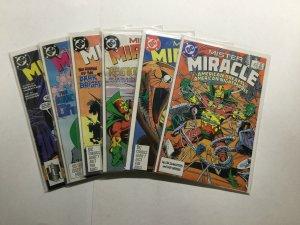 Mister Miracle 1-6 1 2 3 4 5 6 Lot Run Set Near Mint Nm  Dc Comics