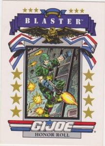 1991 Impel G.I. Joe Card #190 Blaster
