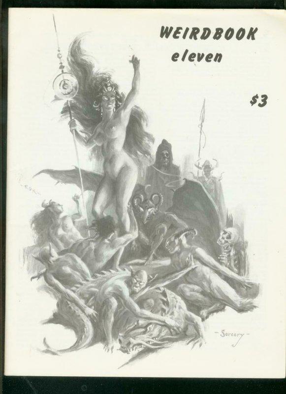 WEIRDBOOK FANZINE #11 1977-ROBERT E HOWARD-ROY KRENKEL  VF