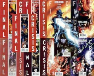 FINAL CRISIS REVELATIONS (2008) 1a-5a,1b-5b  COMPLETE+